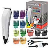 Remington HC5035 ColourCut  - Máquina de Cortar pelo con cable, 16 Accesorios, Acero Inoxidable, Blanco y Gris